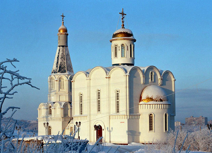 Морской православный храм Спас-на-водах