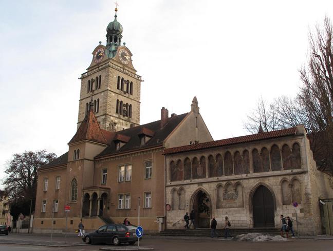Церковь Базилика св. Эммерама