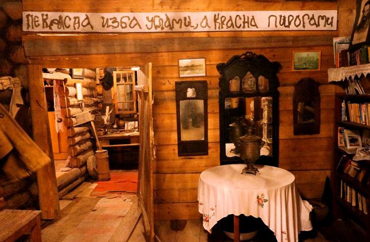 внутри музея старины