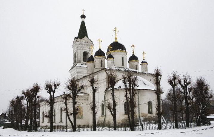 Церковь белой Троицы