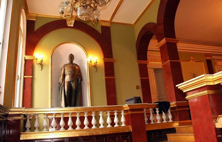Внутри музея объединения
