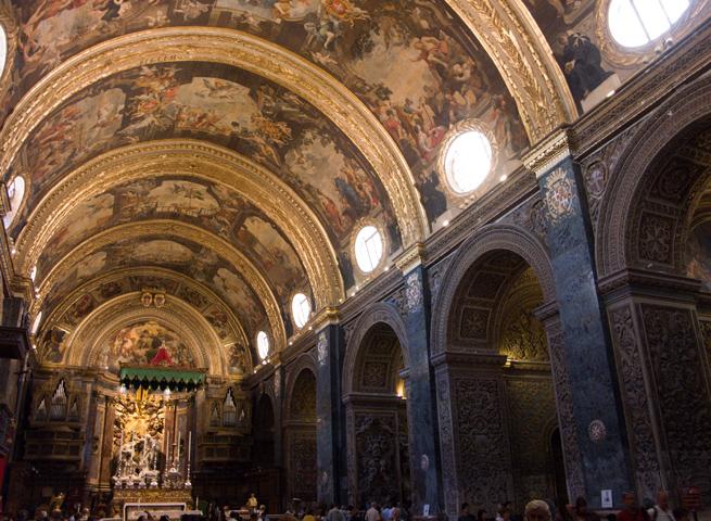Внутри собора Святого Иоанна