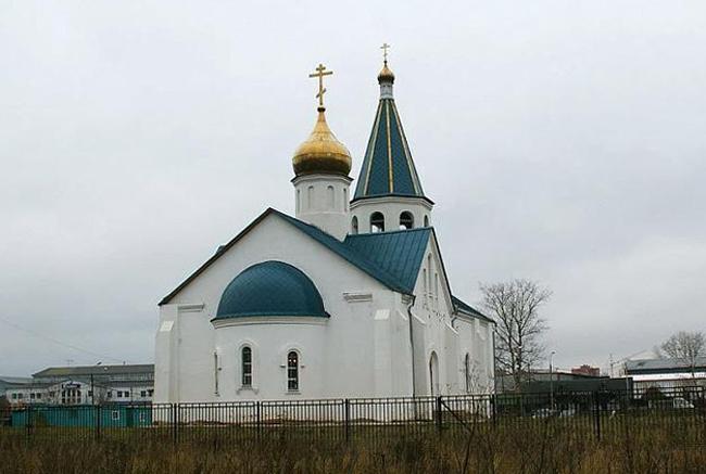 Храм священномученика Сергия Подольского