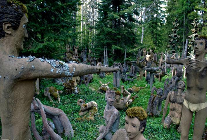 Парк мистических скульптур Париккала