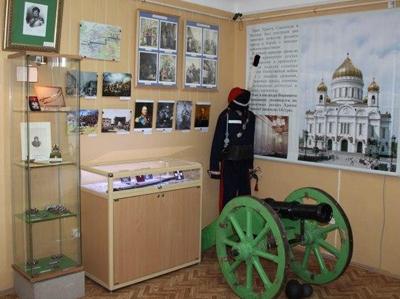 Внутри историко-краеведческого музея
