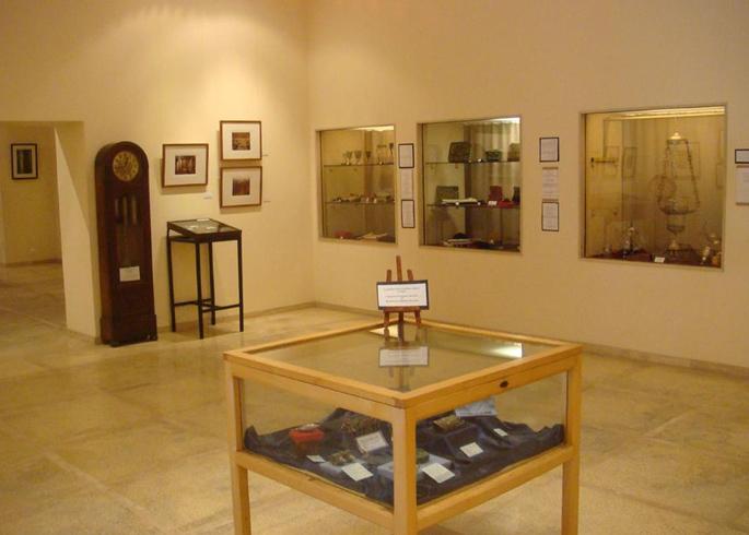 Внутри музея иудаизма