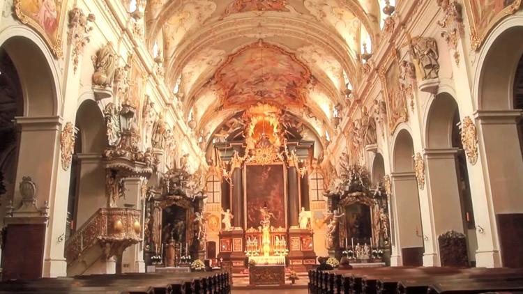 Внутри Базилики св. Эммерама