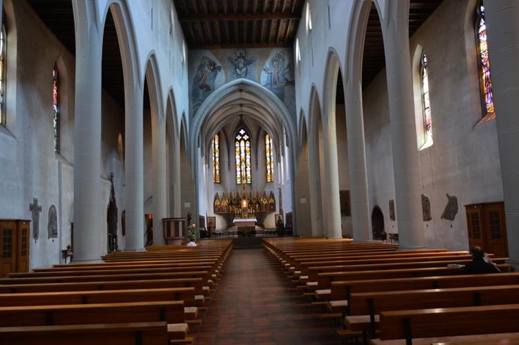 Внутри церкви Святого Мартина