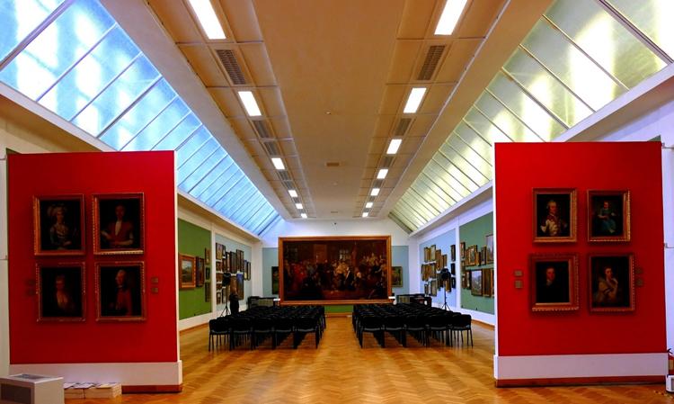 Внутри люблинского музея