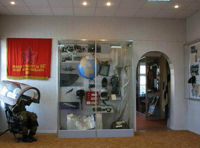 Внутри музея Северного флота