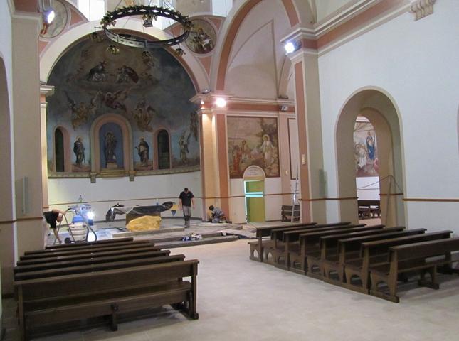Внутри церкви Санта-Мария-дель-Мар