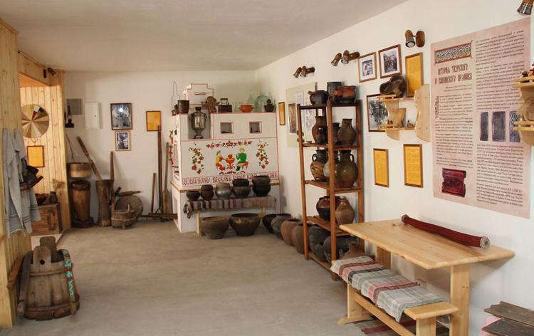 внутри музея каши