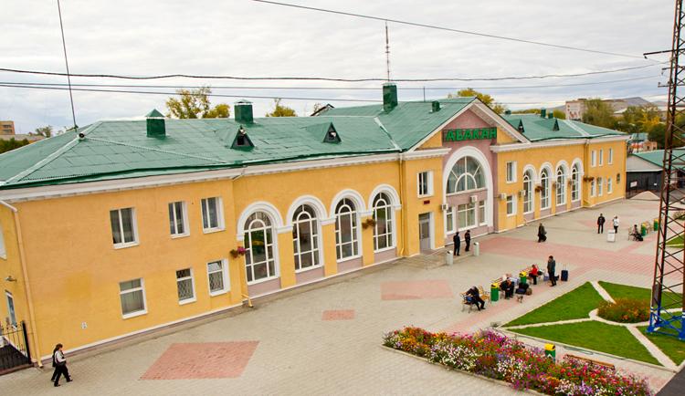 Железнодорожный вокзал Абакана