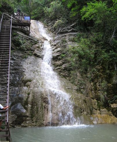 Бигиусские водопады