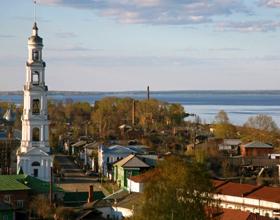Город Юрьевец Ивановской области