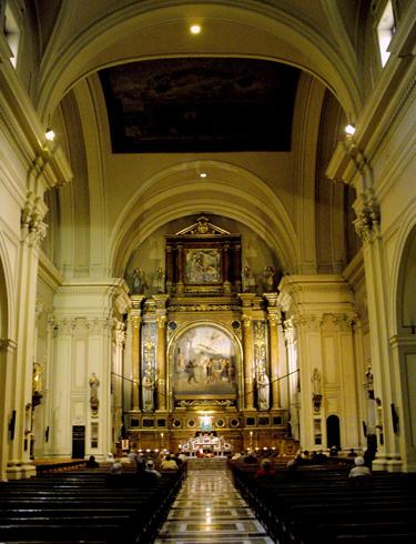 Внутри церкви Санта Энграсия