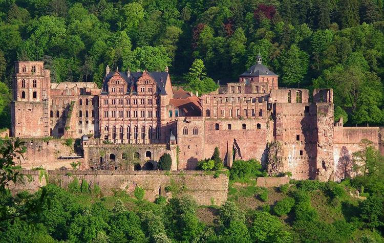 Замок Хайдельберг