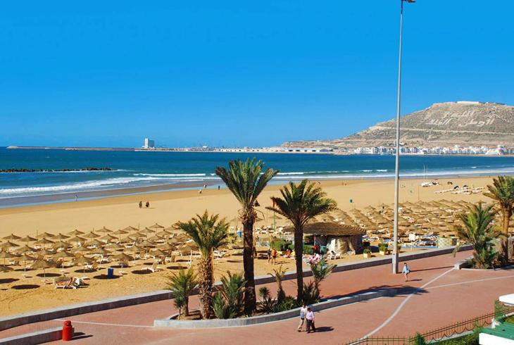 Агадирский пляж