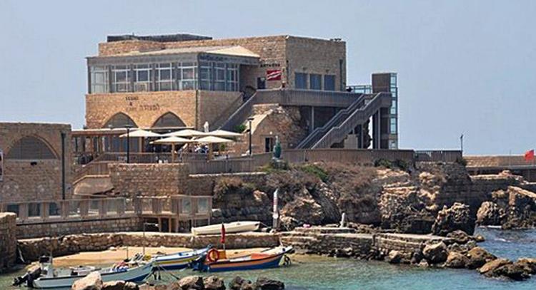 Античный порт Кесарии