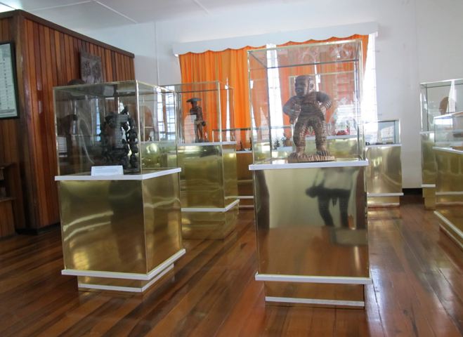 Внутри музея африканского наследия