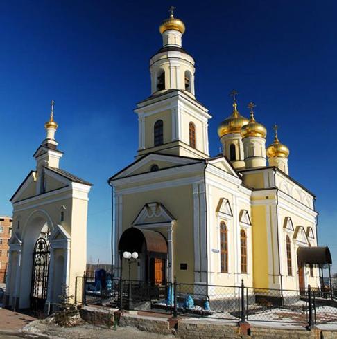 Николаевская заводская церковь