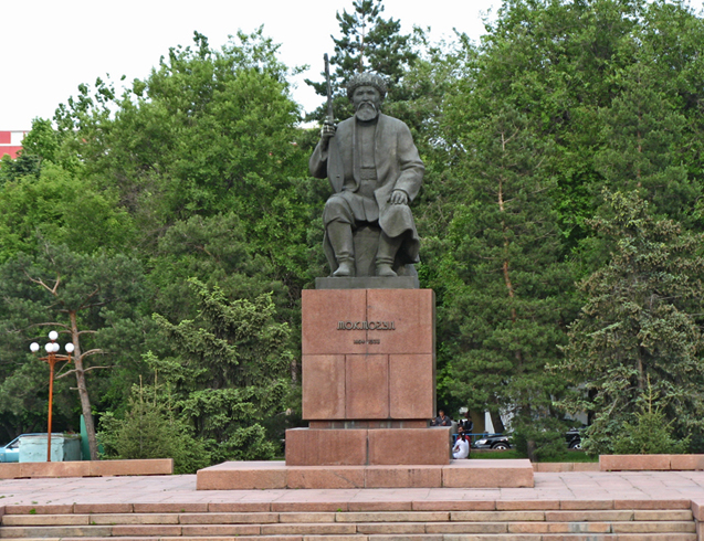 Памятник Токтогулу Сатылганову