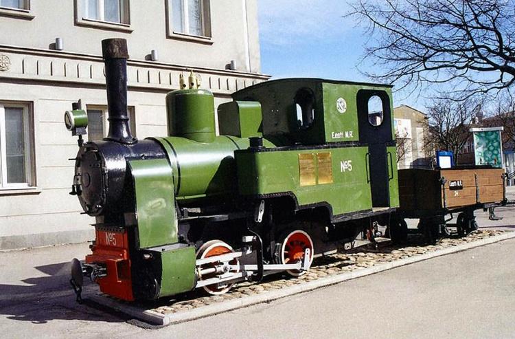 Монумент Пярнуской узкоколейной железной дороги