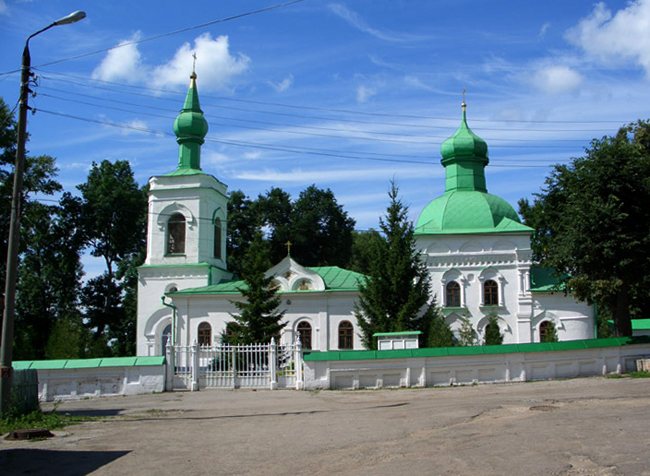 Церковь Николая Чудотворца в деревне Кочаки