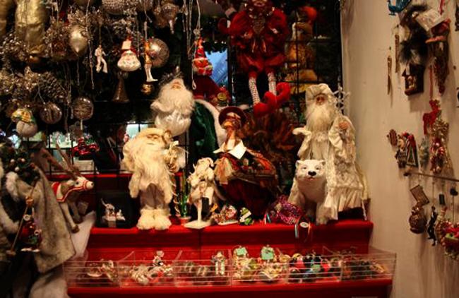 Музей-магазин рождественских игрушек