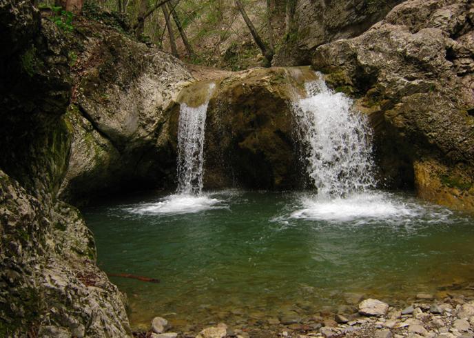Чемисовские водопады