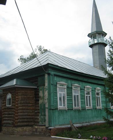Мечеть деревянная