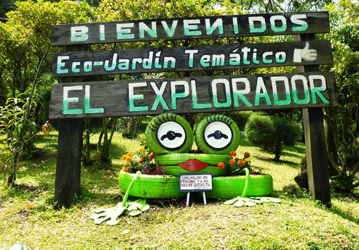Сад El Explorador