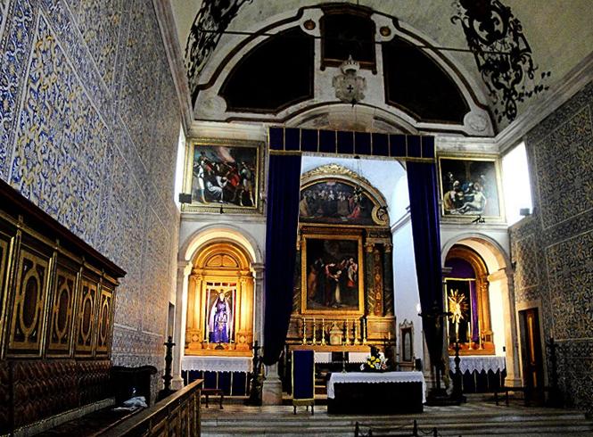 В церкви Мизерикордия