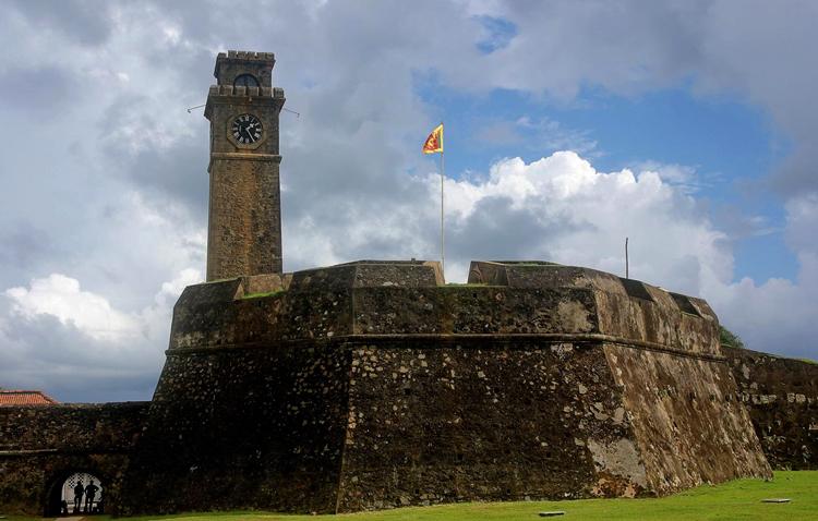 Часовая башня форта Галле