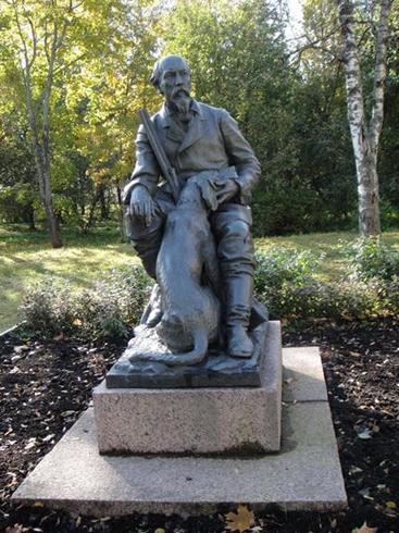 Памятник могилы собаки Кадо