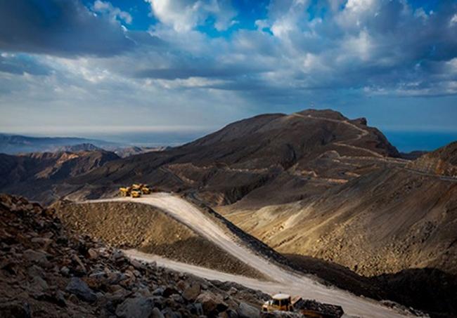 Гора Джебел Джейс