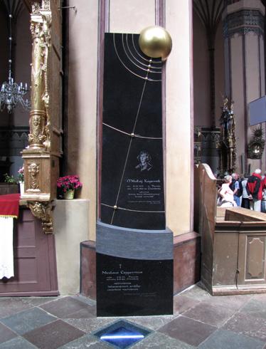 Могила Николая Коперника