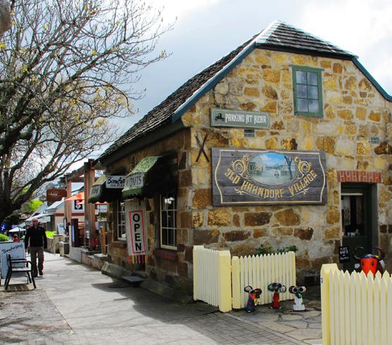 Деревня Хандроф