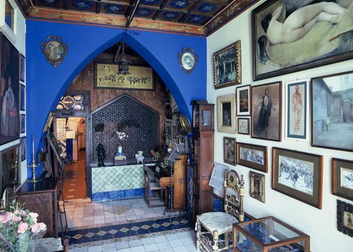 Внутри музея Кау-Феррат