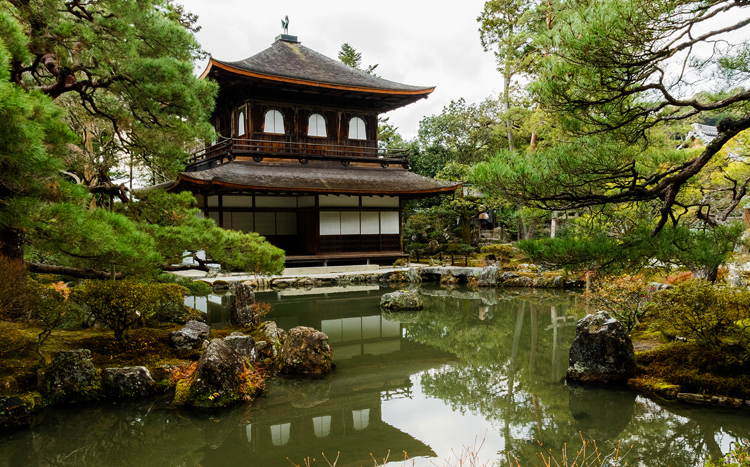Храм Гинкакудзи