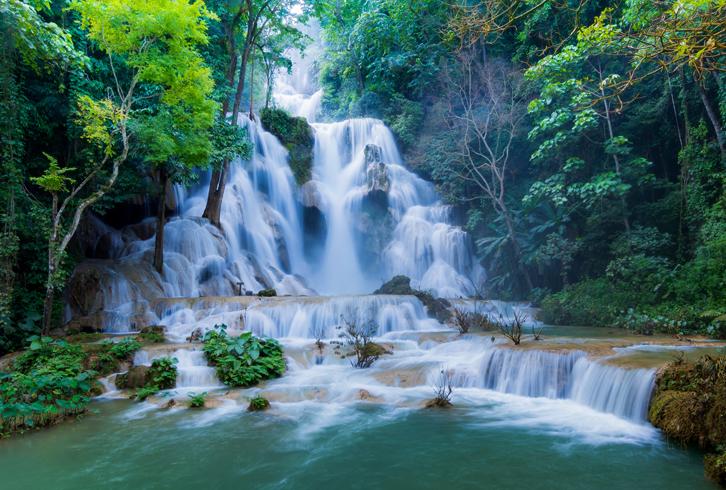 Водопады Тат Куанг Си