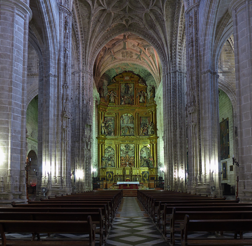 Внутри церкви святого архангела Михаила