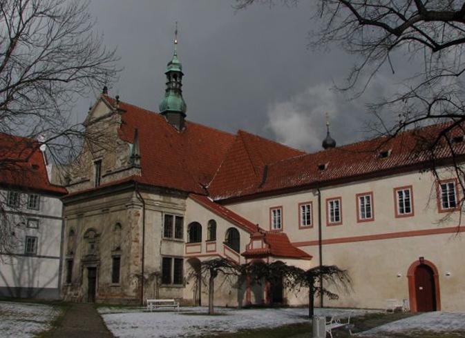 Монастырь средневекового монашеского ордена миноритов