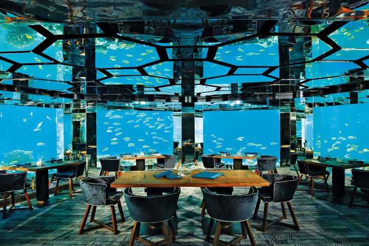Ресторан под водой Ithaa
