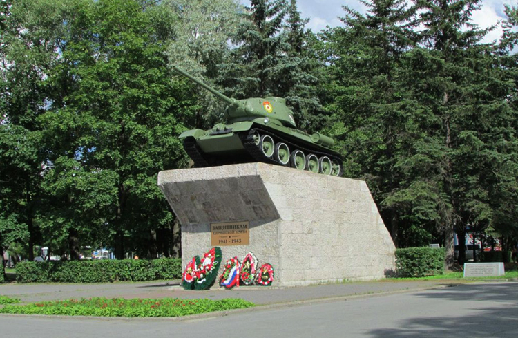 Памятник «Защитникам киришской земли»