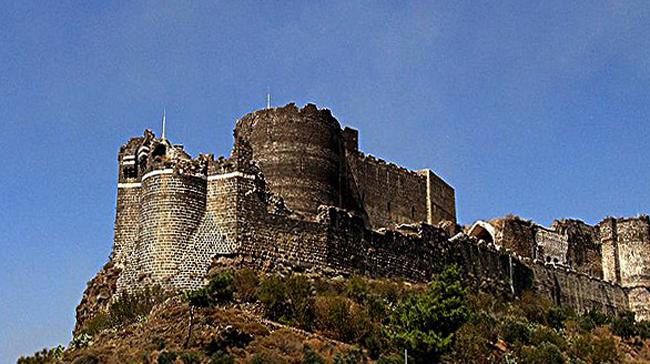 Крепость крестоносцев