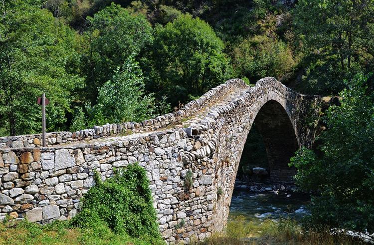 Мост Ла-Марджинеда, Санта-Колома