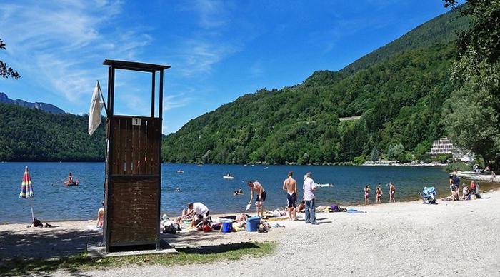 Озеро Левико