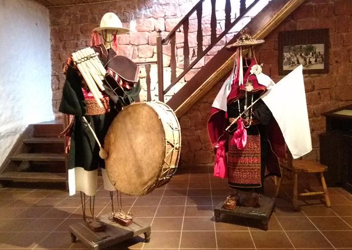 Внутри музея Museo de Arte Indígena