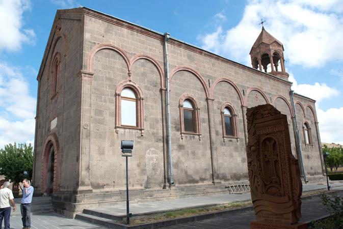Храм святого Месропа Маштоца